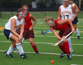The action was intense when Pequannock played host to High Point.