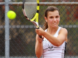 Kaitlin Sanzone is Montville's No. 2 singles player.