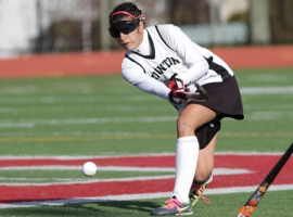 Boonton's Huma Sheikh sends the ball upfield.