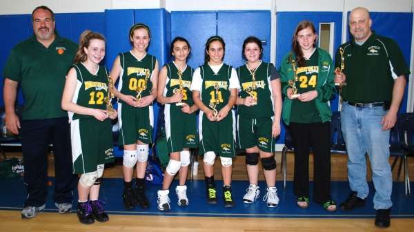 Montville won the seventh grade division at the Par-Troy Pacers Selena Fulmore Tournament.