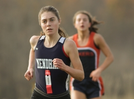 Mendham&#039;s Mackenzie Barry claimed her second Morris County Championship on Tuesday, Oct. 23.